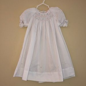 Petit Ami Smocked Bishop Dress Size 18 Months